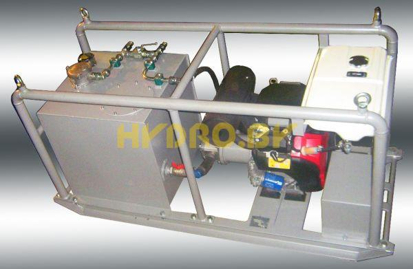 Petrol Engine Driven Hydraulic Power Units Petrol Engine Driven Hydraulic Power Units