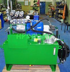 The hydraulic power unit for woodworking industry